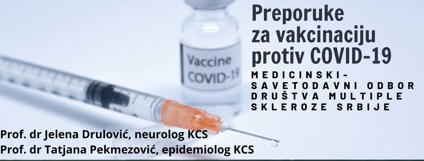 Preporuke za vakcinaciju protiv COVID-19